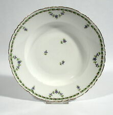 Rosenthal Versailles Suppenteller Jugendstil blaue Blüten