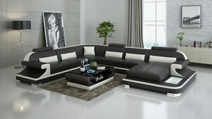 Modern Leather Furniture For Living Room