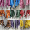 Lots 20pcs Lobster Clasps Leather Cord For Necklace Jewerly Making 2.0mm