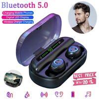 V10 BT5.0 Waterproof Mini Earbuds TWS Wireless Earphone InEar Stereo Headset