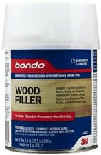 3M Bondo Home Solutions Wood Filler, Restores Replaces Rotted Damaged Wood, New