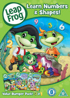 Leap Frog: Learn Numbers and Shapes DVD (2013) Chris D'Angelo cert U ***NEW***