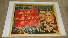 "Mr. Smith Goes To Washington Movie Poster Art Print 19"" x 13"" James Stewart"