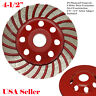 "4.5"" Diamond Grinding CUP Wheel Disc Grinder Concrete 28 Segment 7/8""- 5/8"""