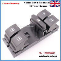 For SKODA OCTAVIA ELECTRIC WINDOW SWITCH UNIT BUTTONS FRONT RIGHT 1Z0959858B