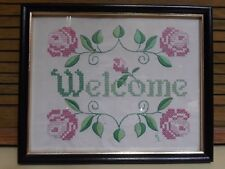 New listing Country Sampler Vintage Look Made In the 1980's Framed