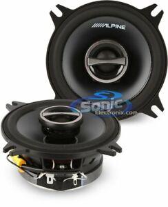 "Alpine S-S40 Type-S Series 280W 4"" Coaxial Car Audio Speakers"