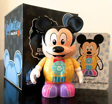 """DISNEY VINYLMATION 3"""" PARK 4 SERIES SPECTRO MICKEY MOUSE COLLECTIBLE TOY FIGURE"""