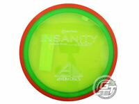 NEW Axiom Discs Proton Insanity 158g Green Orange Rim Distance Driver Golf Disc