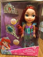 My First Disney Princess Share With Me Ariel Doll With Tiara + Brush For Girl