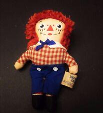 RARE Knickerbocker Raggedy Ann Andy chiffon doll vintage antique