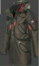Wellensteyn Rescue Team Herren Parka, Größe L, Braun, Top Zustand