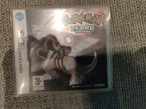 Pokemon Pearl Version Cute Charm Glitch Genuine Original Nintendo DS 2ds 3ds