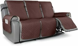TAOCOCO Recliner Sofa Slipcover Couch Covers for 3 Cushion Couch, Pet Sofa Cover