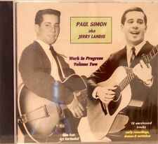 PAUL SIMON aka Jerry Landis 'Work in Progress' Vol# 2