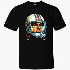 Rare! Dan Marino Miami Dolphins T shirt Funny Black Vintage Gift For Men Women