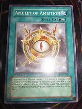 YU-GI-OH! TACTICAL EVOLUTION AMULET OF AMBITION TAEV-EN061 MINT ENGLISH ED 1