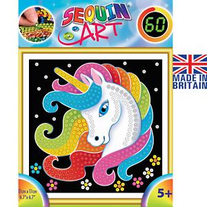 Sequin Art 60 Unicorn - DIY Craft Kit For Kids 2015