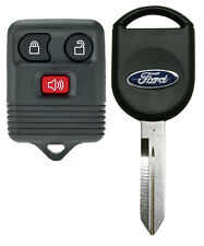 Ford Keyless Remote and OEM Transponder Chip Ignition Key F150 F250 F350 F450