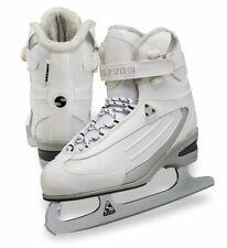 Jackson Ultima Softec Classic St2300 Womens Figure Ice Skates White, Size 10