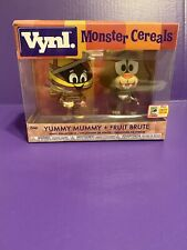 FUNKO VYNL: Yummy Mummy And Fruit Brute 2-Pack Monster Cereals SDCC 2018 Pop