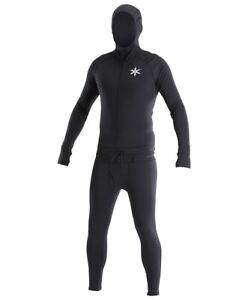 Airblaster One-Piece Classic Ninja Suit Base Layer, Men's Medium, Black New