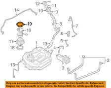 MAZDA OEM 09-11 RX-8 1.3L-R2 Fuel System-Mount Plate Union Nut BN8F42167