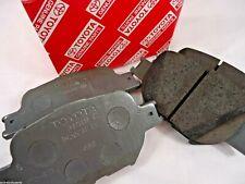 TOYOTA COROLLA REAR BRAKE PADS ZZE122 SEDAN HATCH WAGON 2000-2007 NEW GENUINE