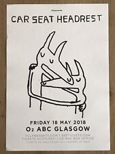 More details for car seat headrest -- glasgow may 2018 live music show tour concert gig poster