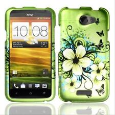 For AT&T HTC ONE X Rubberized HARD Case Snap On Phone Cover Hawaiian Flowers
