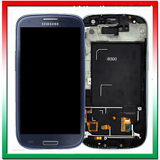 Display Per Samsung Galaxy S3 i9300 Blu LCD Digitizer Touch Screen Schermo