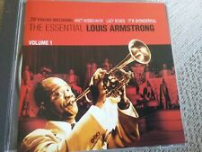 the essential louis Armstrong volume 1 cd freepost in very good condition