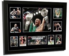 CONOR MCGREGOR 2 DIVISION CHAMP UFC SIGNED LIMITED EDITION FRAMED MEMORABILIA