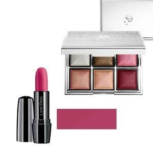 NIB, Lancôme, Lipstick (Sought Afternoon) & Mini Eye and Cheek Palette