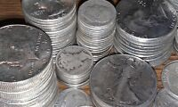 6 Ounces 90% Silver Coins Halves Quarters Dimes