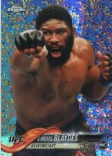 2018 Topps UFC Chrome CURTIS BLAYDES RC Diamond Hot Box Refractor Rookie #6