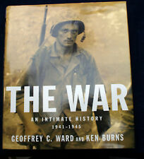 THE WAR: AN INTIMATE HISTORY signed. inscribed Ken Burns 1st Print