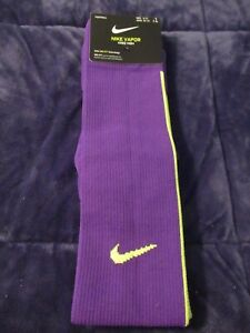 Nike Vapor Football Knee High Men's Socks With Dri-Fit-Men Size 8-12-Free Ship
