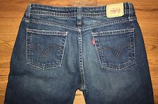 Women's LEVI'S 518 Super Low Boot Cut Jeans Size 5 Long ( 29 x 32 )