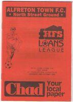 Alfreton Town v Ashton United 1992/3 HFS League Cup