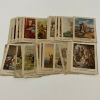 Antique Bible Picture Lesson Cards from 1898-1940s Providence Lithograph Co