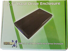 "EXTERNAL USB 2.0 eSATA or USB 3.0 to SATA 2.5"" HD Hard Disk Drive Enclosure 880"
