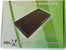 """EXTERNA USB 2.0 eSATA o USB 3.0 a SATA 2.5"""" HD Unidad De Disco Duro Caja 880"""