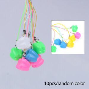 10pcs Colorful Baby Kids Tooth Storage Box Organizer Milk Teeth Keepsake Hol Lx