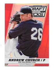 2013 Andrew Church Panini Prizm Draft Picks Rookie Red Refractor /100 - NY Mets