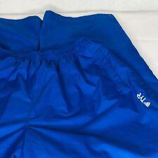 TYR Swim Apparel Mens Sz Large Blue White Breakout Warm Up Sweat Pant