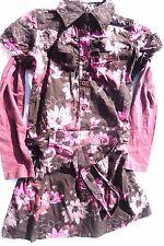 vestito con corrispondenti Maglia a maniche lunghe, marrone-pink V. V. MILLS
