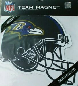 Baltimore Ravens 12 INCH HELMET MAGNET ! FREE SHIPPING ! FAST SHIPPING !