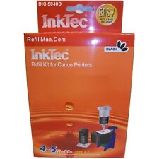 Inktec Ink Cartridge Black Refill Kit Canon Pixma MG 2150 2250 3150 3250 PG-540
