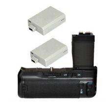 Vertical Battery Grip for CANON EOS 550D Rebel T3 T2i T3i + 2x LPE8 Battery DSLR